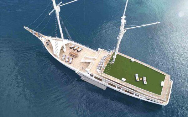 sewa phinisi lako dia, charter superyacht lako di'a, ayana lako dia, harga charter phinisi ayana 2021, phinisi ayana labuan bajo, kapal ayana komodo